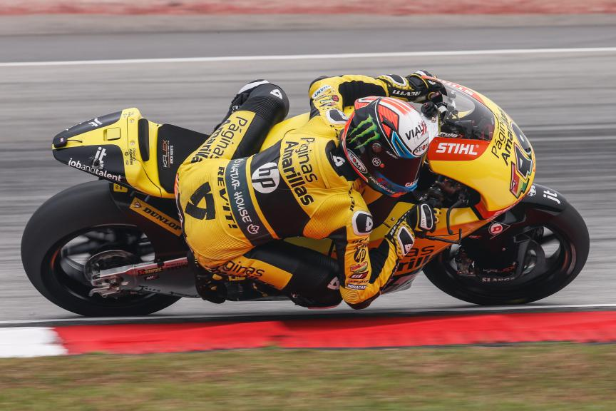 Alex Rins, Paginas Amarillas Hp 40, Malaysian GP QP