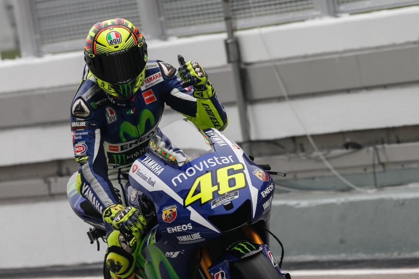 Valentino Rossi, Movistar Yamaha MotoGP, Malaysian GP QP