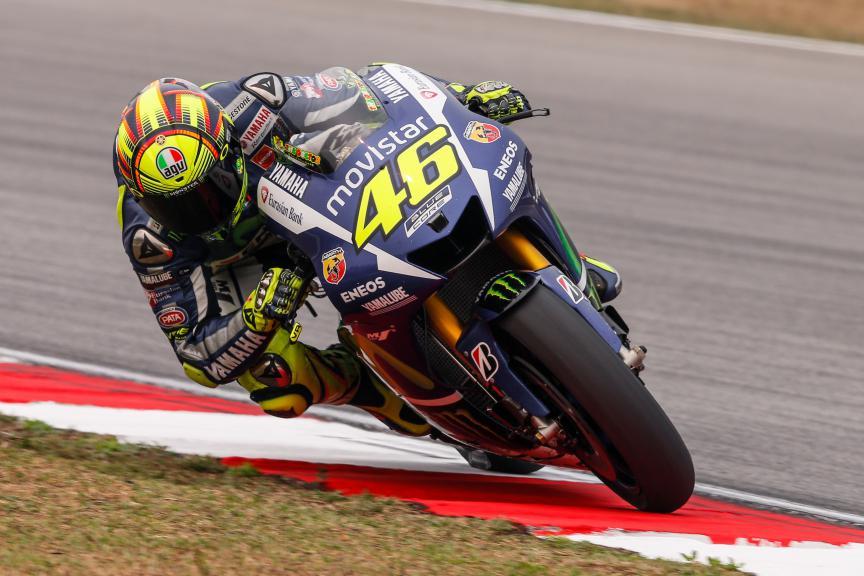 Valentino Rossi, Movistar Yamaha MotoGP, Malaysian GP Q2