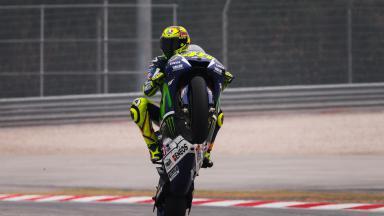 #ForzaVale vs #VamosJorge: ¡Rossi tiene el título a tiro!