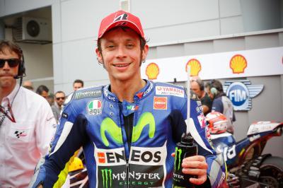 Rossi: «Es muy importante estar en la primera línea»