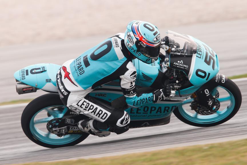 Danny Kent, Leopard Racing, Malaysian GP FP3