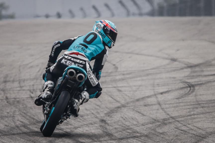 Danny Kent, Leopard Racing, Malaysian GP QP