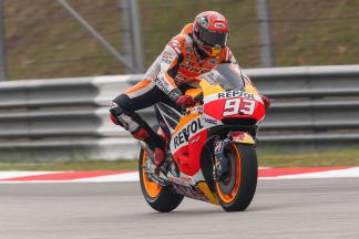 "Marquez: ""I am finding things harder with fresh tyres here"""