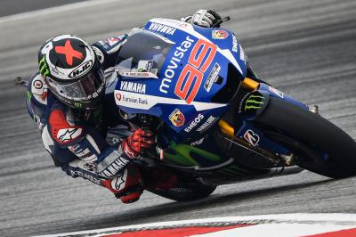Lorenzo puts the hammer down in FP3