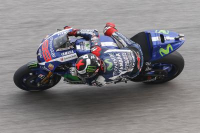 "Lorenzo: ""We had big problems with the brakes"""
