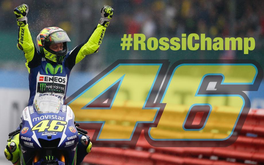 Rossi champion