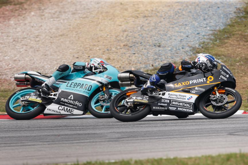 Moto3 Action, Malaysian GP Race