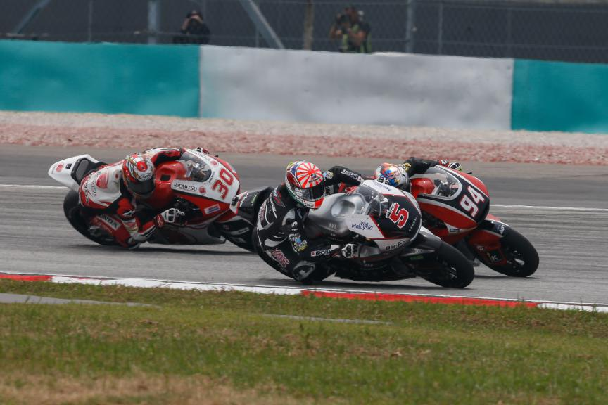Moto2 Action Malaysian GP Race