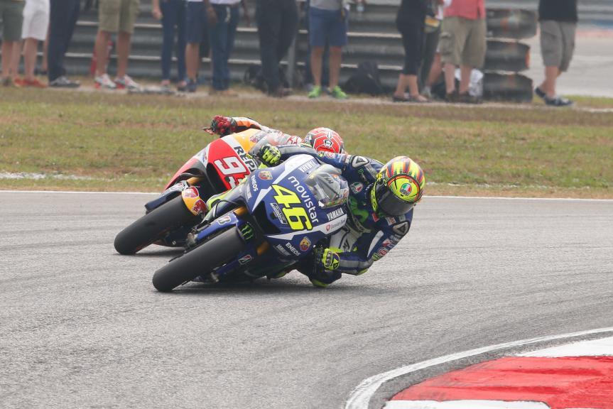 MotoGP Action Malaysian GP Race