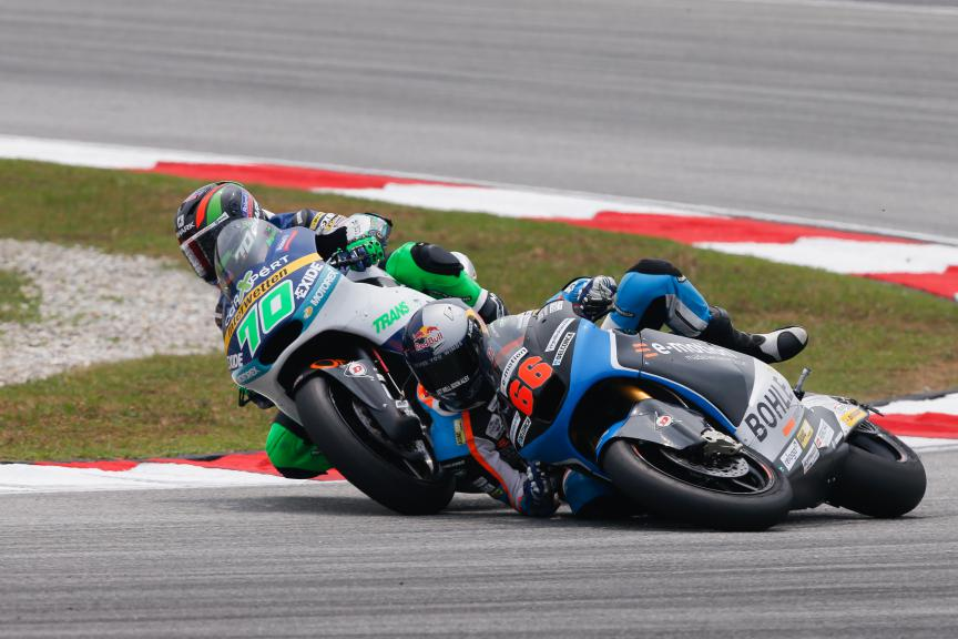 Moto2 Action Malaysian GP Race