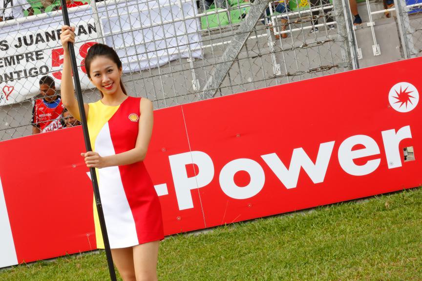 Paddock Girl Shell Malaysia Motorcycle Grand Prix