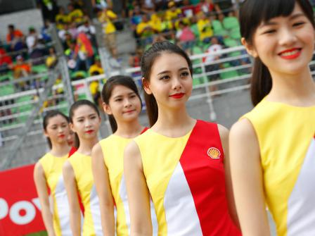 Paddock Girl Malaysian GP