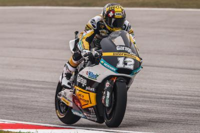 Luthi marca ritmo no warm up matinal da Moto2™
