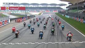 The full race session of the Moto3™ World Championship at the Malaysian GP.
