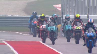#Malaysian GP: Warm Up classe Moto3™