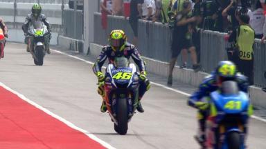 #Malaysian GP: Warm Up classe MotoGP™