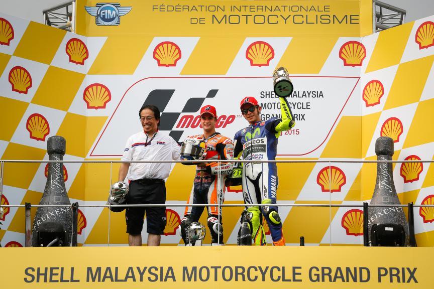 Dani Pedrosa, Valentino Rossi, Repsol Honda Team, Movistar Yamaha MotoGP, Malaysian GP Race