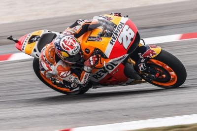 Pedrosa wins as Lorenzo cuts Rossi's lead to 7 points