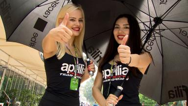 As Paddock Girls do #MalaysianGP