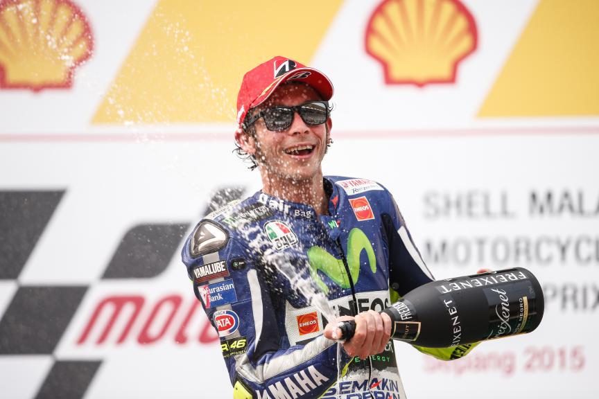Valentino Rossi, Movistar Yamaha MotoGP, Malaysian GP Race