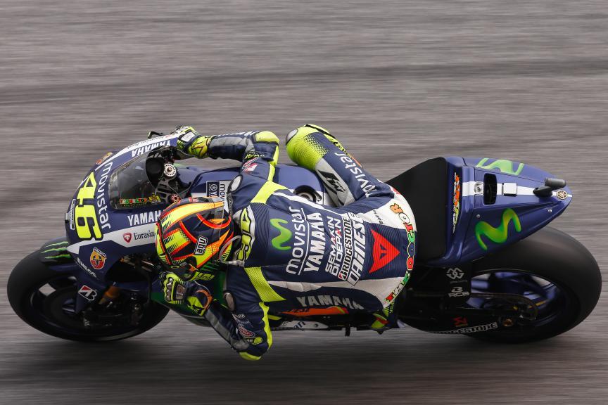 Valentino Rossi, Movistar Yamaha MotoGP, Malaysian GP WUP