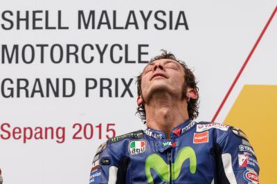 Rossi: «Marc estaba pilotando para crearme problemas»