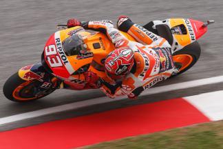 Marquez il più veloce nel warm up MotoGP™