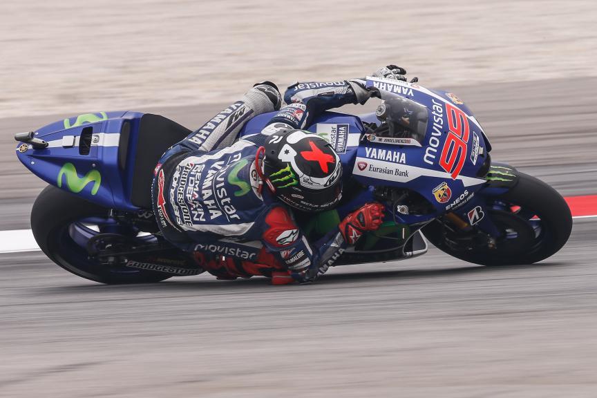 Jorge Lorenzo, Movistar Yamaha MotoGP, Malaysian GP WUP