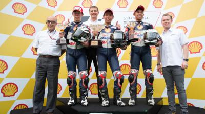 Masaki closes the year with a win in Sepang