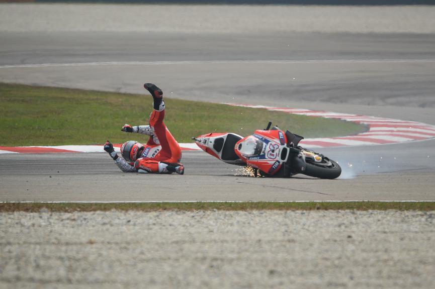 Andrea Dovizioso, Ducati Team, Malaysian GP Race