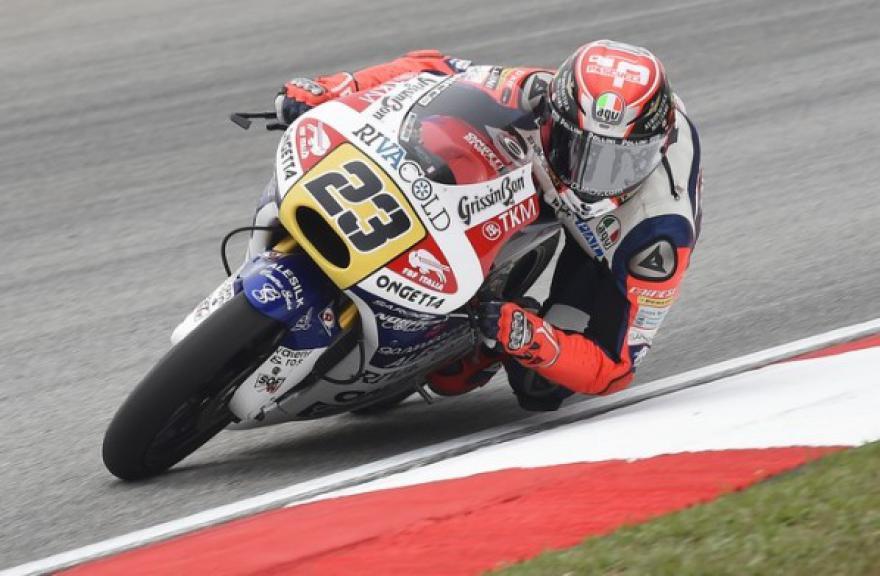 Niccolò Antonelli, Ongetta-rivacold, Malaysian GP Race