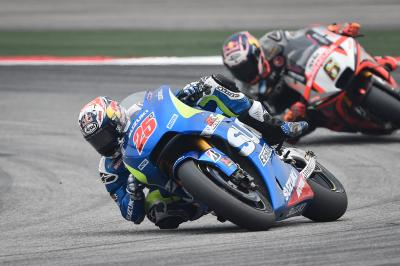 "Viñales: ""Suddenly many riders overtook me"""