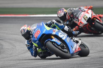 """Viñales: """"Suddenly many riders overtook me"""""""