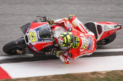 "Iannone: ""For the second time this season I had a problem"""