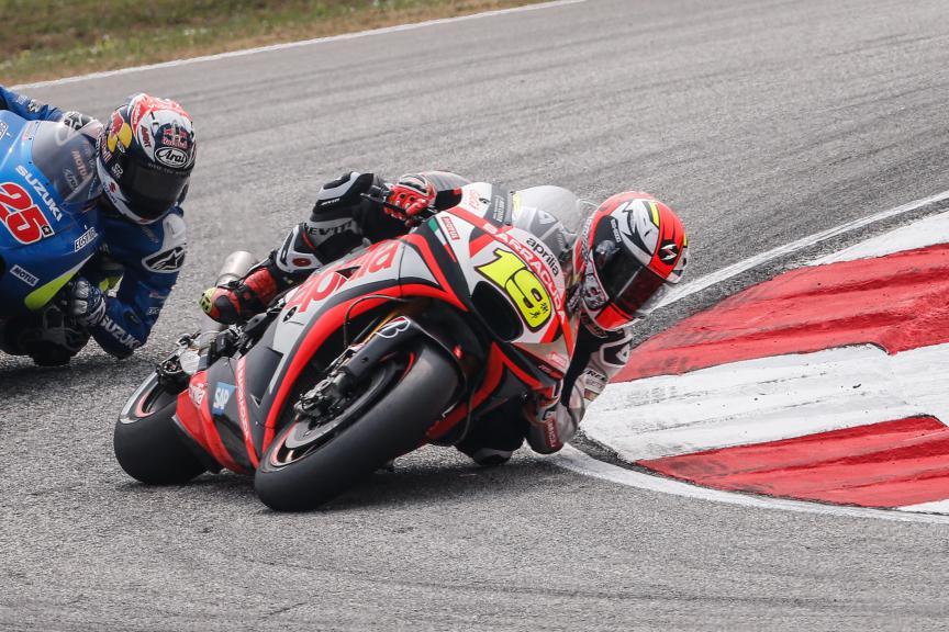 Alvaro Bautista, Aprilia Racing Team Gresini, Malaysian GP Race