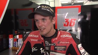 Kallio test rider KTM in MotoGP™