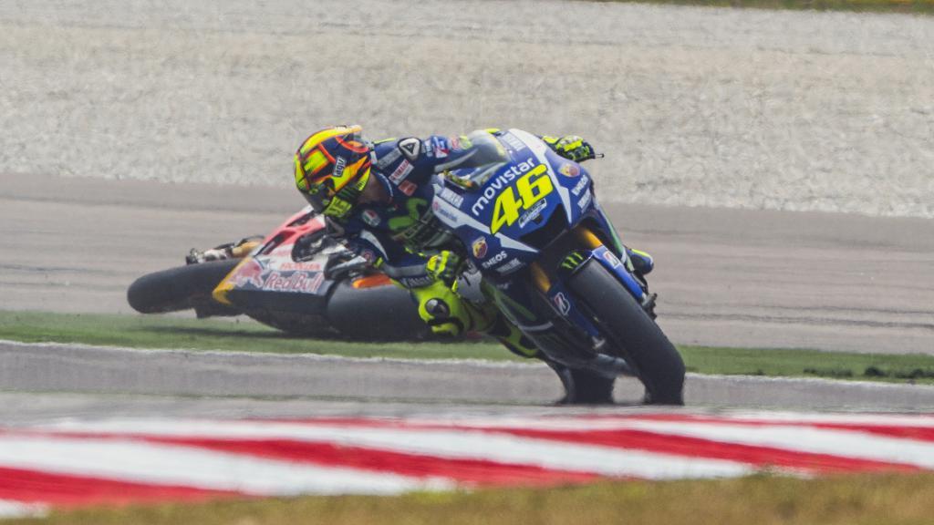 2015 - Rossi-Marquez crash Malaysia