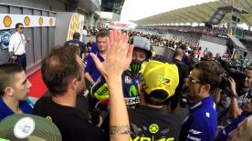 Rossi vs. Lorenzo at the #MalaysianGP, filmed exclusively on GoPro™ cameras.
