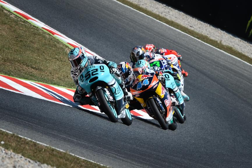 Danny Kent, Miguel Oliveira, Leopard Racing, Red Bull KTM Ajo