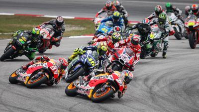 MotoGP™ Fahrer und Teams ins Permanente Büro zitiert