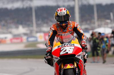"Pedrosa: ""We've worked hard and won two races"""