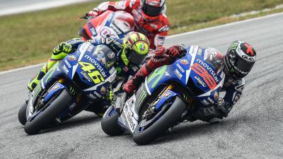 Las opciones de Rossi y Lorenzo para ser campeón