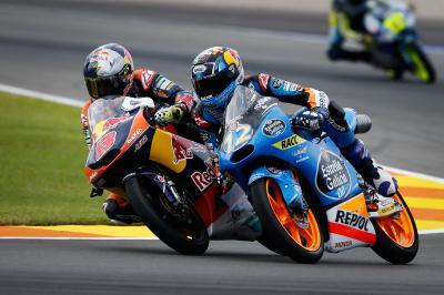 Los campeonatos de Moto3™ que se han decidido en Valencia