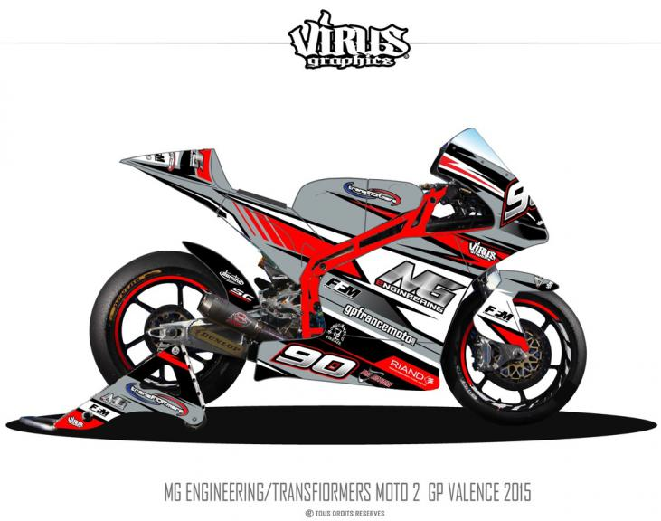 MG Engineering Transfiormers Moto2