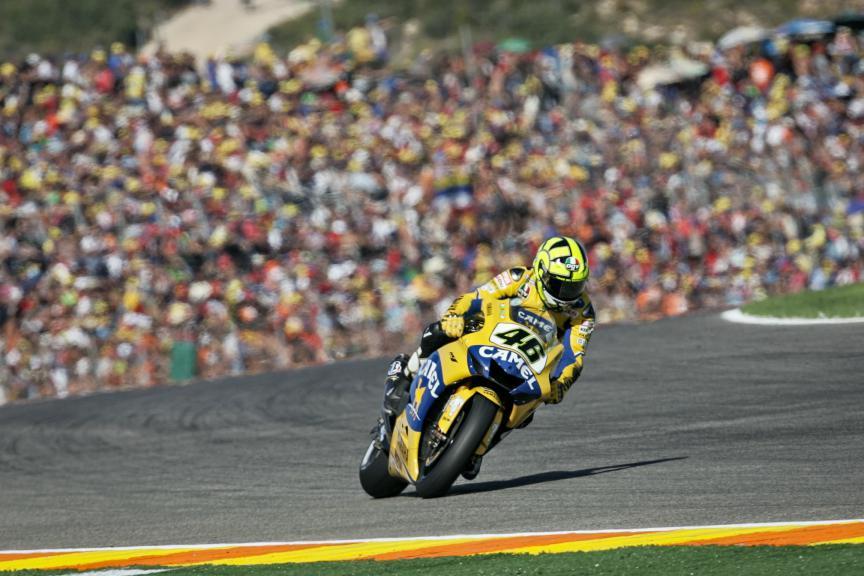 Valentino Rossi, 2006 Valencia Race