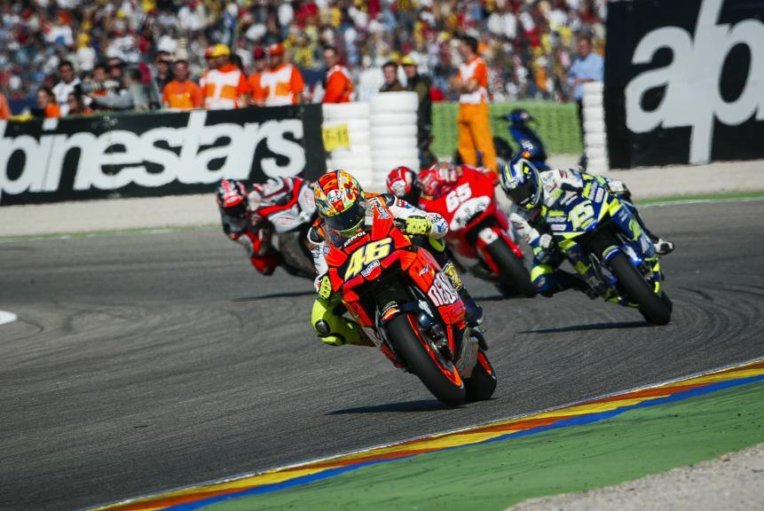 Valentino Rossi 2003 Valencia Race