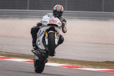 Hayden: «Quiero irme de MotoGP con una sonrisa»