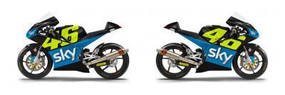 El equipo SKY Racing Team VR46 presenta un nuevo carenado