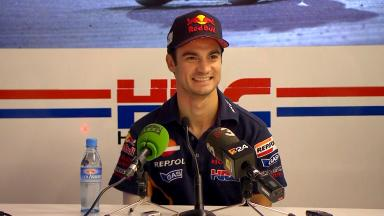 Media Brief: Pedrosa wants to race & win